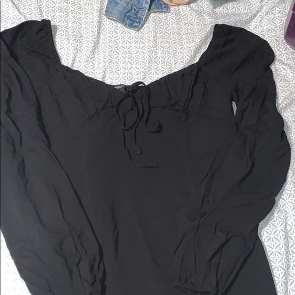 Forever 21 Dresses & Skirts - Black long sleeve dress